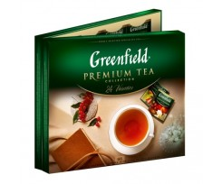 Набір пакетованого чаю GREENFIELD Асорті, 24 сорти по 4шт, 96 пакетів (gf.106322)