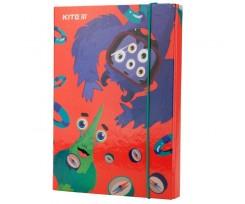 Папка для зошитів Kite Jolliers, на гумці, В5, картон (k19-210)