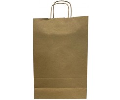 Пакет з ручками Kuvert Ecobag 240х100х360 мм коричневий (10632030000)
