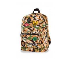 Рюкзак молодіжний  CoolPack Cross, 31x42x17 см, 23 л, поліестер, жовтий камуфляж (A26109)