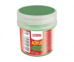 Акрил Maxi для декору 20 мл зелений (MX60179-04)