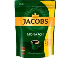Кава Jacobs Monarch розчинна 250 г пакет (prpj.90137)