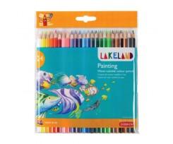 Набір акварельних олівців Derwent Lakeland Painting 24 кольорів 2.9 мм (33255)