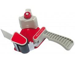 Диспенсер Optima для пакувальної клейкої стрічки 50 мм червоний (O45401)