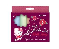 Крейда Kite Hello Kitty, кольорова, 6 кольорів (HK19-073)