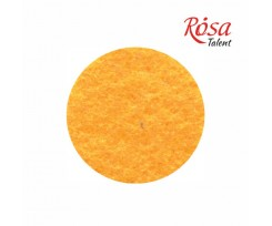 Фетр листковий ROSA TALENT 215х280 мм поліестер Жовтий темний 180 г/м2 (165FW-H008)