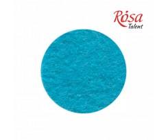Фетр листковий ROSA TALENT 215х280 мм поліестер Блакитний 180 г/м2 (165FW-H014)