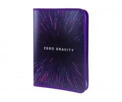 Папка Cool For School Gravity на блискавці А4 фіолетова (CF32021)