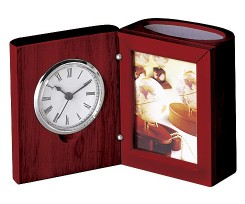 Набір настільний Bestar годинник фоторамка червоне дерево (0056XJU)