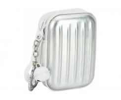 Брелок-гаманець Cool For School 9.5x4x7 см з дзвіночком срібний (CF86949)