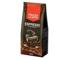 """Кава в зернах Piazza del Caffe """"Espresso"""", пакет, 1000 г (jr.1099021)"""
