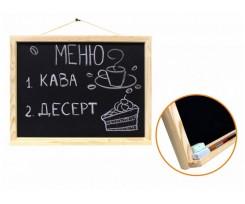 Дошка магнітна для крейди ROSA Talent 30*40см сосна (GPТ50083139)
