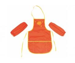 Фартух з нарукавниками Cool For School 30 х 50 см  жовто-гарячий (CF61490-06)