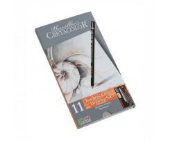 "Набір олівців для рисунку Cretacolor ""Teacher's choice"", 11 шт.,  (90740032)"