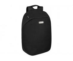 Рюкзак Optima Anti-theft 43х30х12 см 6-15 л чорний (O97366-01)