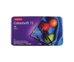 Набір кольорових олівців Derwent Coloursoft, 72 кол., (701029)