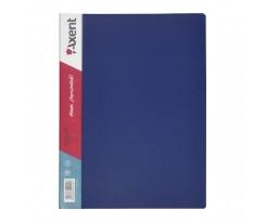 Дисплей-книга Axent 20 файлів, А4, РР, синя (1020-02-a)