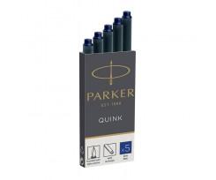 Картриджі Parker Quink 5 штук синій (11 410BLU)