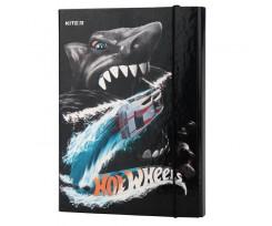 Папка для зошитів Kite Hot Wheels, на гумці, В5, картон (hw19-210)