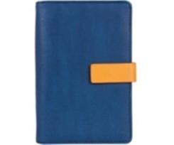 Бізнес-організатор Optima, магнітна застібка, 80л.,130*190 мм, 80 г/м2, синій (O27178-02)