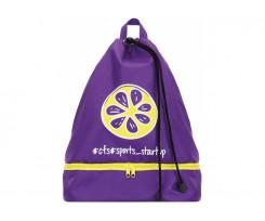 Рюкзак спортивний Cool For School 44х32х17 см фіолетовий (CF86598-03)