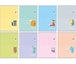 Зошит Interdruk Kids Pastel А5 16 аркушів клітинка асорті (255549)