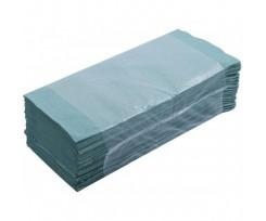 Рушники паперові макулатурні BuroClean  25х23см,V--подібні.,160шт., зелені(10100102)