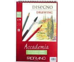 Альбом для ескізів Fabriano Accademia А4 30 аркушів 200 г/м2 дрібне зерно (16F5204)