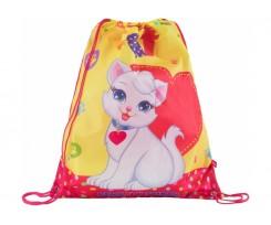 "Сумка для взуття Cool For School ""Cute Cat"", 40х33 см, поліестер (CF85764)"