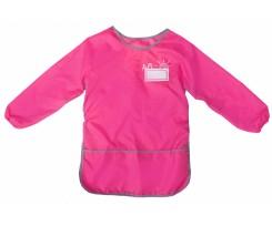Фартух для дитячої творчості зі спинкою Cool For School 36 х 62 см рожевий (CF61491-09)