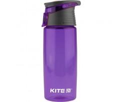Пляшечка для води Kite пластикова, 550 мл, фіолетова (k18-401-05)