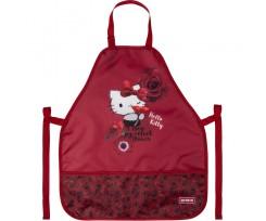 Фартух з нарукавниками Kite Hello Kitty, 55x47 см, поліестер, бордовий (HK20-161)
