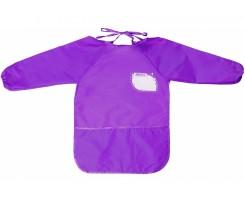 Фартух для дитячої творчості Cool for school з кишенею підлітковий фіолетовий (CF61651-12)
