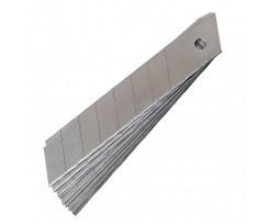 Леза для канцелярських ножів Axent 10шт 18 мм (6802-a)
