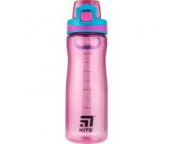 Пляшечка для води Kite 650 мл, тритан, рожева (K20-395-01)