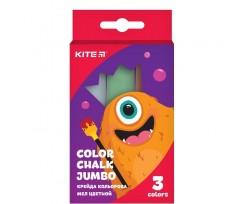 Крейда Kite Jolliers, кольорова, 3 кольори (K19-077)